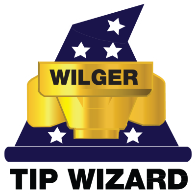 Best Spray Tip Selector in the World. Wilger developed Tip Wizard to make it easy for end users to choose a spray tip that lets them apply what they want, how they want, safer and more effectively.