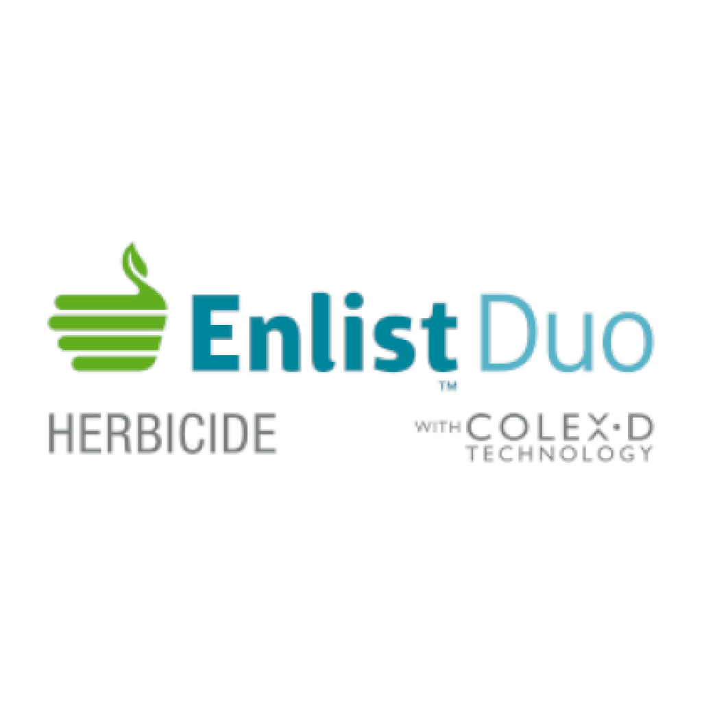 EnlistDuo™ Herbicide with Colex-D Technology Logo - Combo-Jet® spray tips are used for the best application of XtendiMax with Pulse Width Modulation Spray Systems like AimCommand®, Hawkeye®, Pinpoint® II, SharpShooter®,