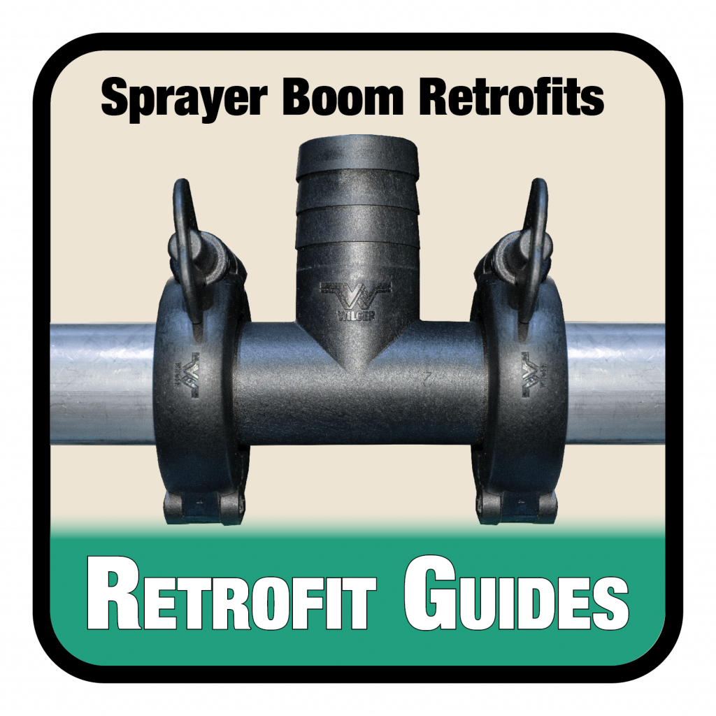 Guides to retrofitting sprayer booms for recirculating, air purge, spot spraying and more