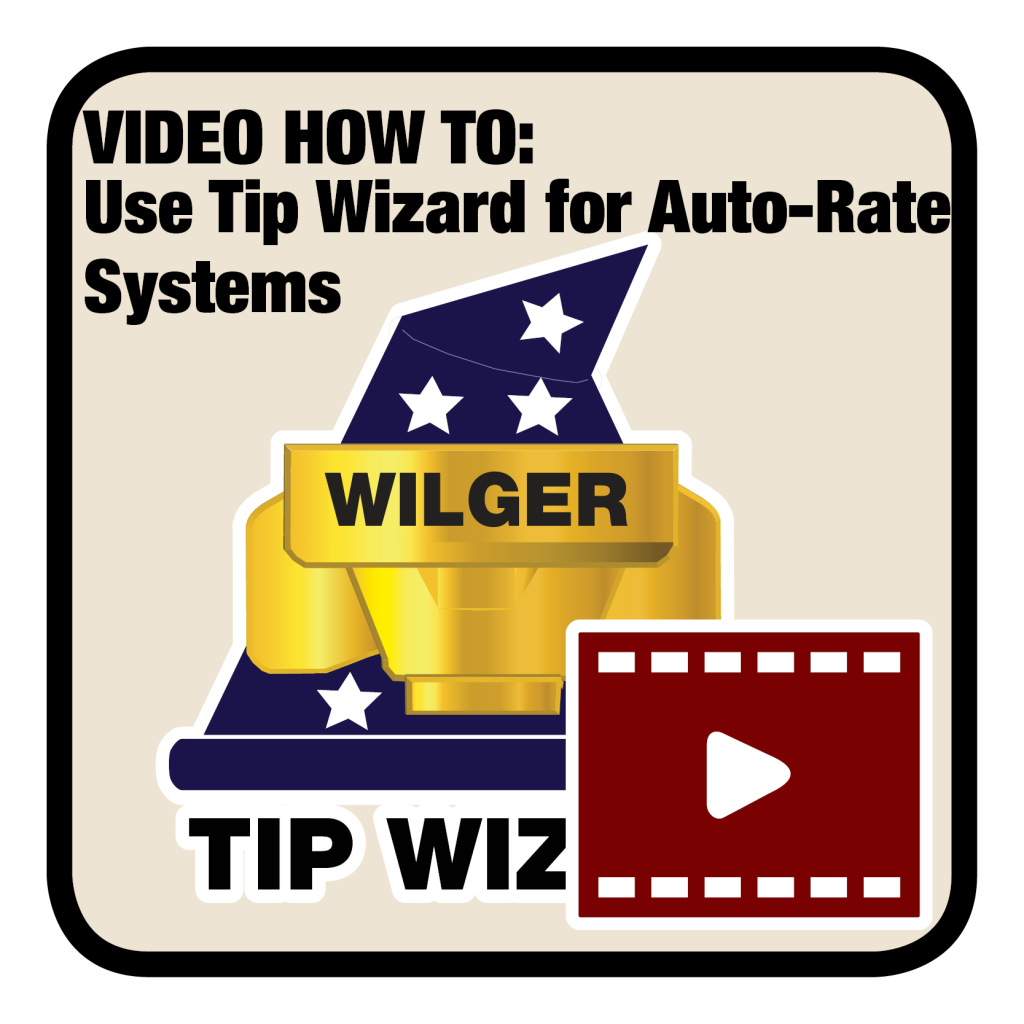 Find this article for a video walkthrough of Tip Wizard for Example Tip Selection for Spray Tips
